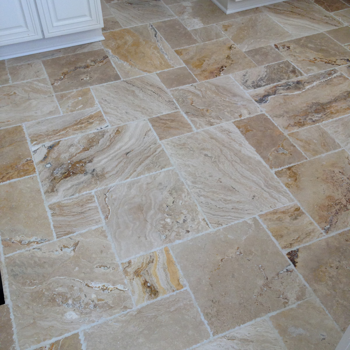 Tile style suwanee ga bathroom remodeling company and tile french pattern custom floor tile installation custom travertine floor dailygadgetfo Choice Image