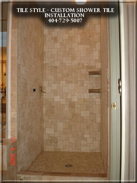 Bathroom Remodeling in Alpharetta Ga - Shower Travertine ...