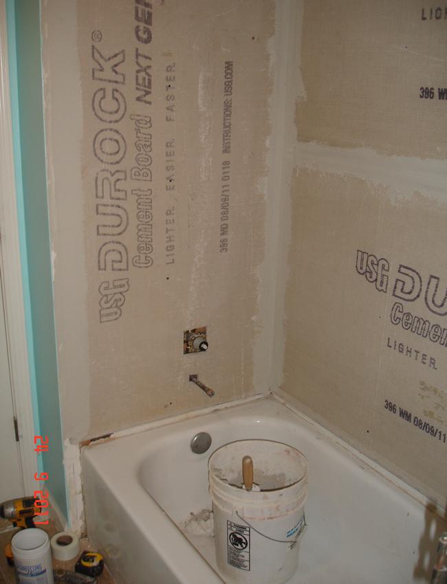 Tile Style Travertine Tub Shower Remodel Alpharetta Ga